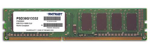 PATRIOT RAM DIMM 8GB DDR3 1333MHZ CL9