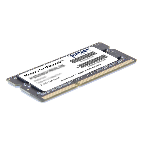 PATRIOT RAM SODIMM 8GB DDR3L 1600MHZ CL11 1,35V PER ULTRABOOK