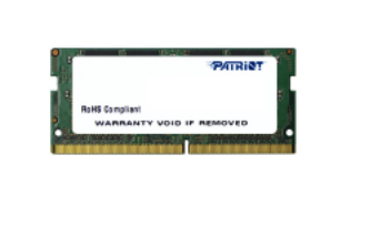 PATRIOT RAM SODIMM 4GB DDR4 2400MHZ