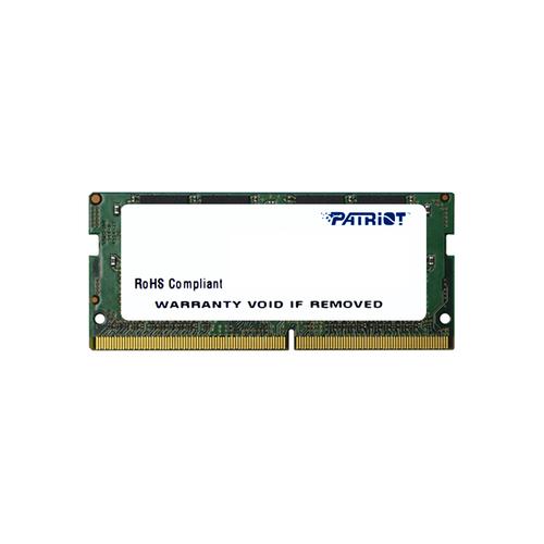 PATRIOT RAM SODIMM 4GB DDR4 2400MHZ