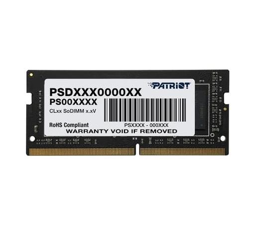 PATRIOT RAM SO-DIMM 4GB DDR4 2666MHZ