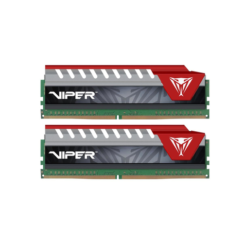 PATRIOT RAM VIPER ELITE DIMM 16GB (2X8GB DC) DDR4 2400MHZ RED