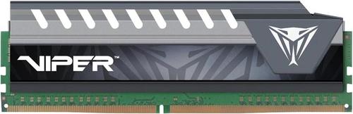 PATRIOT RAM VIPER ELITE DIMM 16GB DDR4 2400HZ CL16 GRAY