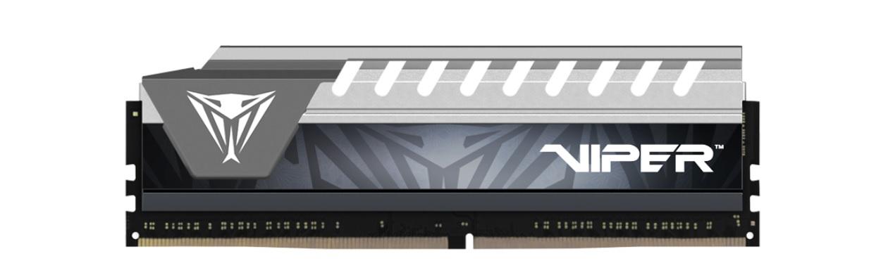 PATRIOT RAM VIPER ELITE DIMM 32GB (2X16GB) DDR4 2666HZ CL16 GRAY
