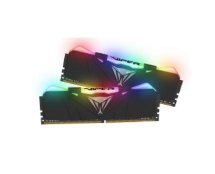 PATRIOT RAM VIPER RGB BLACK DIMM 16GB (2X8GB) 2666MHZ