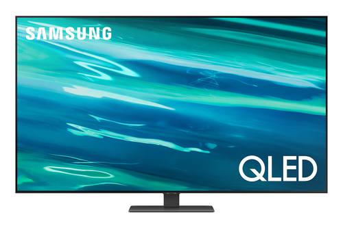 Samsung Series 8 TV QLED 4K 65 QE65Q80A Smart TV Wi-Fi Carbon Silver 2021