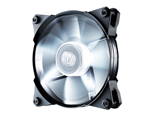 COOLER MASTER VENTOLA PC JETFLO PWM 120MM, WHITE LED, 2000RPM, POM BEARING