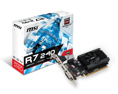 MSI VGA R7 240 2GD3 64B LP FAN