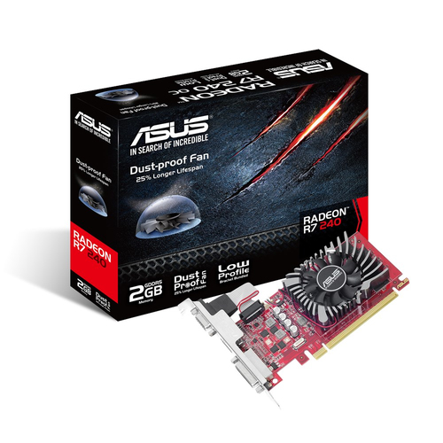 ASUS SCHEDA VIDEO ASUS R7240-2GD5-L