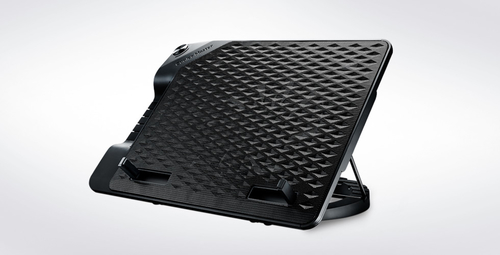COOLER MASTER BASE PER NOTEBOOK METAL MESH SURFACE,230 MM FAN, FAN SPEED CONTROL, 4 USB PORTS, 6 HEIGHT SETTINGS