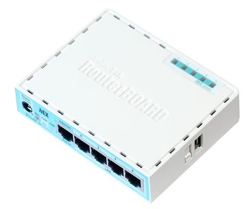 MIKROTIK ROUTERBOARD RB750GR3, 5 PORTE GIGABIT POE, CPU DUAL CORE 880MHZ, 256MB RAM, USB, MICROSD, ROUTEROS L4