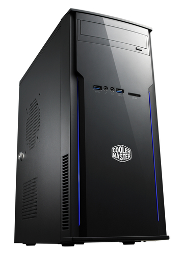 COOLER MASTER CASE ELITE 241, MINI TOWER, PSU 300WATT ACTIVE PFC 80+, USB 3.0, ATX/MICRO-ATX