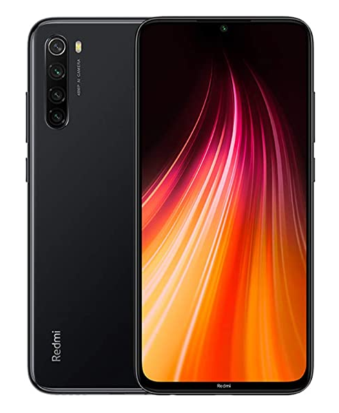 XIAOMI REDMI NOTE 8 (2021)64GB 4GB RAM SPACE BLACK