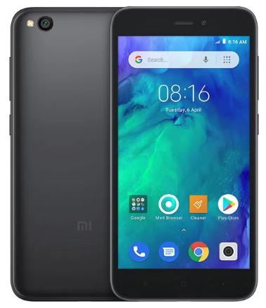 XIAOMI REDMI GO 16GB 1GB RAM DUAL SIM BLACK ITALIA