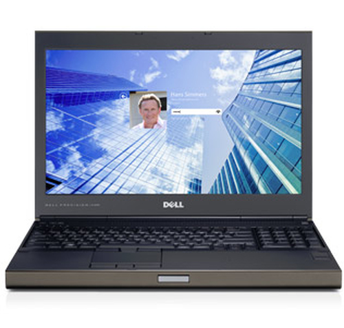 REFURBISHED DELL NB PRECISION M4800 I7-4800QM 16GB 500GB 15,6 DVD-RW K1100M WIN PRO 10