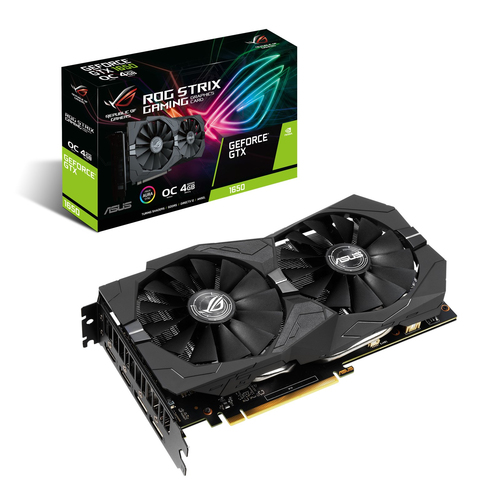 ASUS VGA GTX 1650 4GB GDDR5 DP/HDMI ROG-STRIX-GTX1650-O4G-GAMING