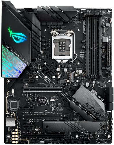 ASUS MB ROG STRIX Z390-F GAMING LGA 1151 4*DDR4 PCI-EX/16 SATA3 USB3.1 DP HDMI ATX