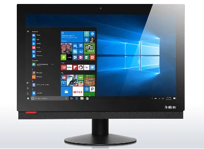 REFURBISED LENOVO PC AIO M800 CORE I5-6500 8GB 120GB SSD WEBCAM WIN 10 HOME