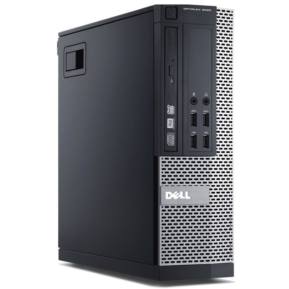 REFURBISHED DELL PC 7010 SFF I7-3770 4GB 128GB SSD DVD LINUX