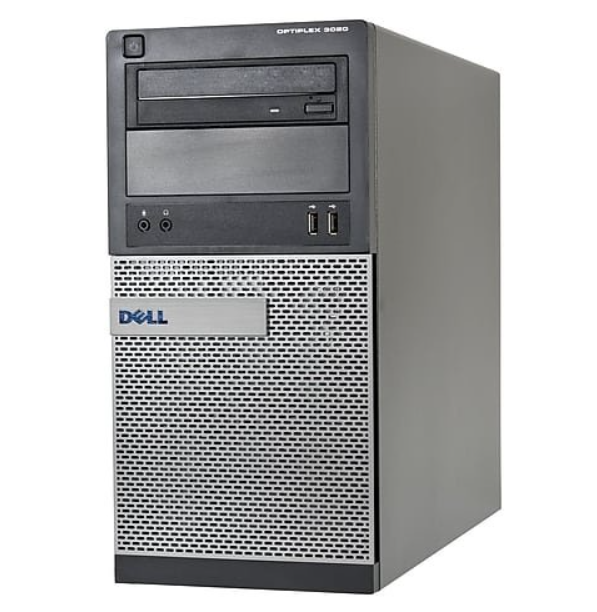 REFURBISHED PC DELL 3020 TOWER I5-4590 4GB 500GB DVD LINUX