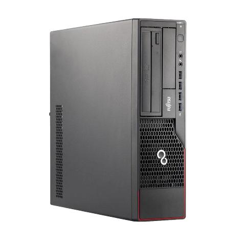 REFURBISHED PC SFF FUJITSU E700 I5-2400S 4GB 500GB DVD LINUX