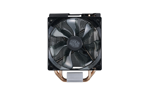 COOLER MASTER DISSIPATORE CPU, HYPER 212 LED TURBO BLACK COVER, 2X120MM 600-1600RPM PWM FAN WITH RED LED, 4X6MM DIRECT CONTACT HEATPIPES, FULL SOCKET SUPPORT