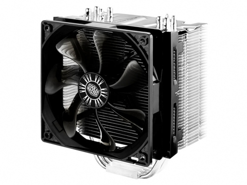 COOLER MASTER DISSIPATORE CPU HYPER 412S,  TOWER, 120MM 800-1300RPM SILENT FAN, 4 X 6MM CDC HEATPIPES, FULL SOCKET SUPPORT