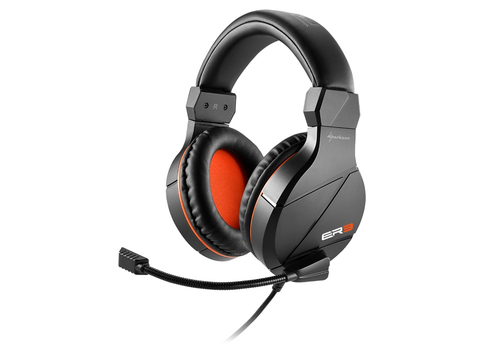 SHARKOON CUFFIE GAMING CON MICROFONO RUSH ER3, BLACK