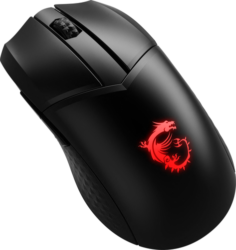 MSI MOUSE GAMING CLUTCH GM41 LIGHTWEIGHT WIRELESS, 16000 DPI, SWITCH OMRON, SUPPORTO DRAGON CENTER
