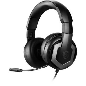 MSI CUFFIE HEADSET GAMING IMMERSE GH61 VIRTUAL 7.1 SURROUND, DAC ESS, CONTROLLER IN LINEA AMP, USB