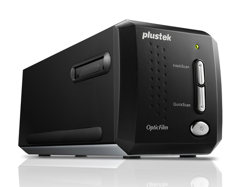 PLUSTEK SCANNER OF8200ISE PER FILM E FOTOGRAFIE 7200DPI SCANNER W/SILVERFAST SEPLUS  8 + ME + ISRD FOR WIN AND MAC