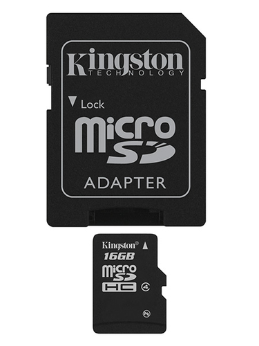 KINGSTON SDHC MICRO 16GB CLASS 4