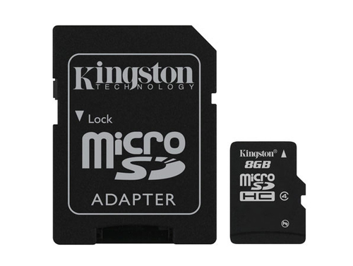 KINGSTON SDHC MICRO 8GB CLASS 4