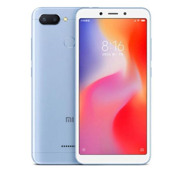 XIAOMI SMARTPHONE REDMI 6 32GB BLUE