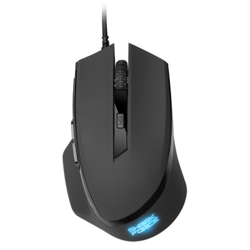 SHARKOON MOUSE OPTICAL USB GAMING 6 TASTI 1600DPI NERO