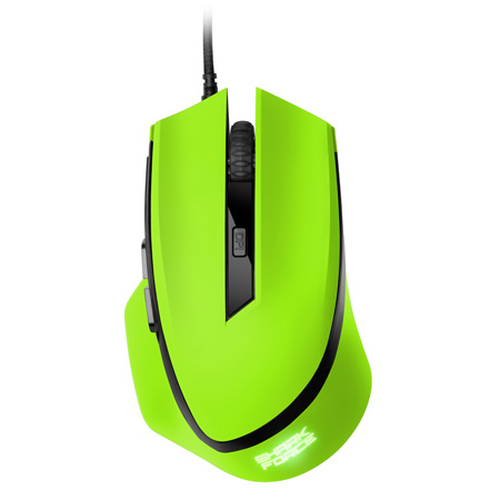 SHARKOON MOUSE OPTICAL USB GAMING 6 TASTI 1600DPI VERDE