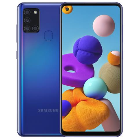 SAMSUNG GALAXY A21S 128GB BLUE