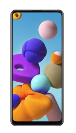 SAMSUNG GALAXY A21S 128GB BLACK