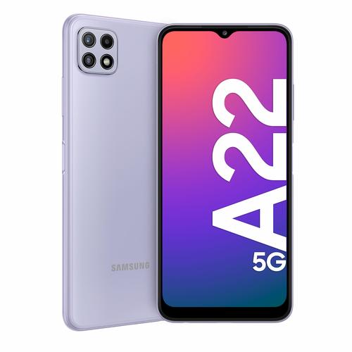 SAMSUNG GALAXY A22 5G 64GB 4GB RAM LIGHT VIOLET
