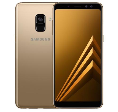 SAMSUNG GALAXY A8 DUAL SIM GOLD 4GB RAM ANDROID