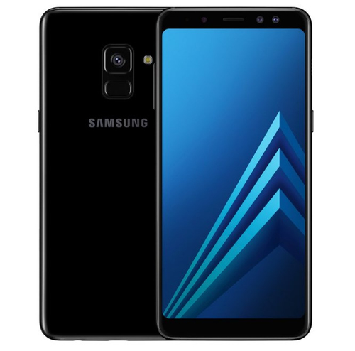 SAMSUNG GALAXY A8 DUAL SIM BLACK 4GB RAM ANDROID