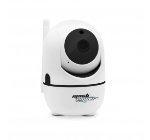 MACHPOWER TELECAMERA PAN TILT WI-FI 1080P, COMPATIBILITA ALEXA E GOOGLE HOME