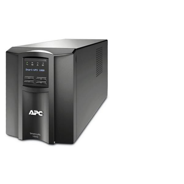 APC SMT1000I SMART-UPS 1000VA LCD 230V. APC SMART-UPS, 670WATTS/1000VA INGRESSO 230V/USCITA 230V INTERFACE PORT DB-9 RS-232 SMARTSLOT, USB