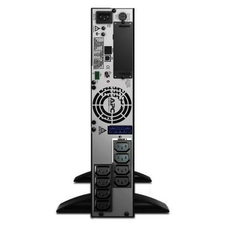 APC SMX750I SMART-UPS 750VA RACK/TOWER LCD 230V. APC SMART-UPS, 600WATTS/750VA, INGRESSO 230V/USCITA 230V, EXTENDED RUNTIME MODEL. ALTEZZA RACK 2U.