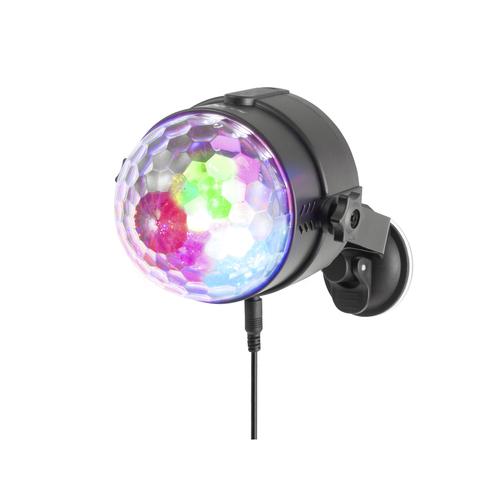 NGS PARTY LIGHTS LED RGB USB MUSIC CONTROL INTEGRATO + TELECOMANDO