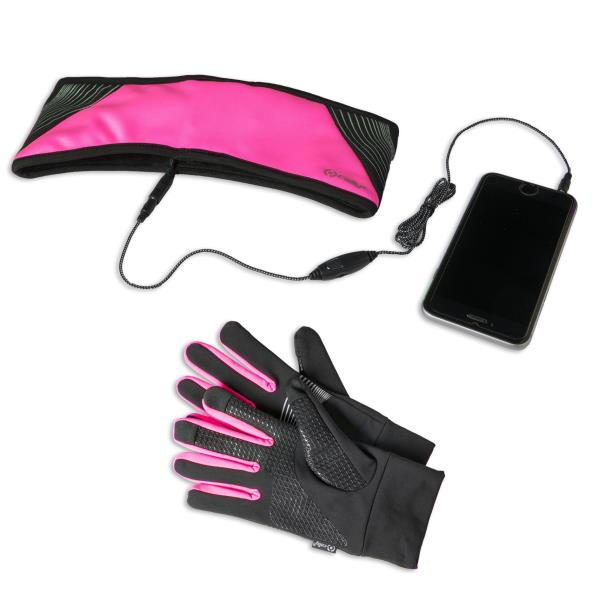 CELLY SPORT HEADBAND WITH BUILT-IN STEREO EARPHONES(JACK 3.5MM)             TOUCHSCREEN GLOVES