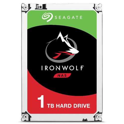 SEAGATE HDD IRONWOLF NAS 1TB 3,5 5900RPM SATA3 64MB CACHE