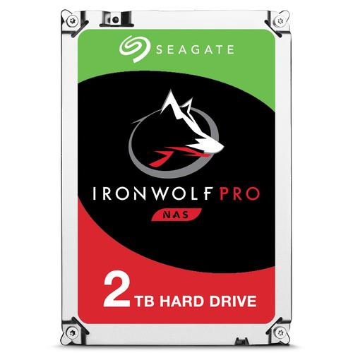 SEAGATE HDD IRONWOLF PRO 2TB SATA 3,5 7200RPM 128MB CACHE