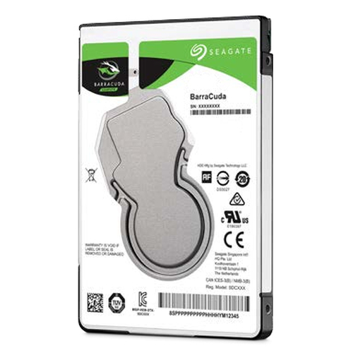 SEAGATE HDD BARRACUDA 500GB 2,5 5400RPM SATA3 128MB CACHE