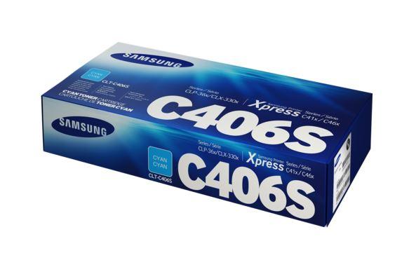 HP SAMSUNG TONER CIANO PER CLP-360/365 CLX-3300/3305 1000PAG
